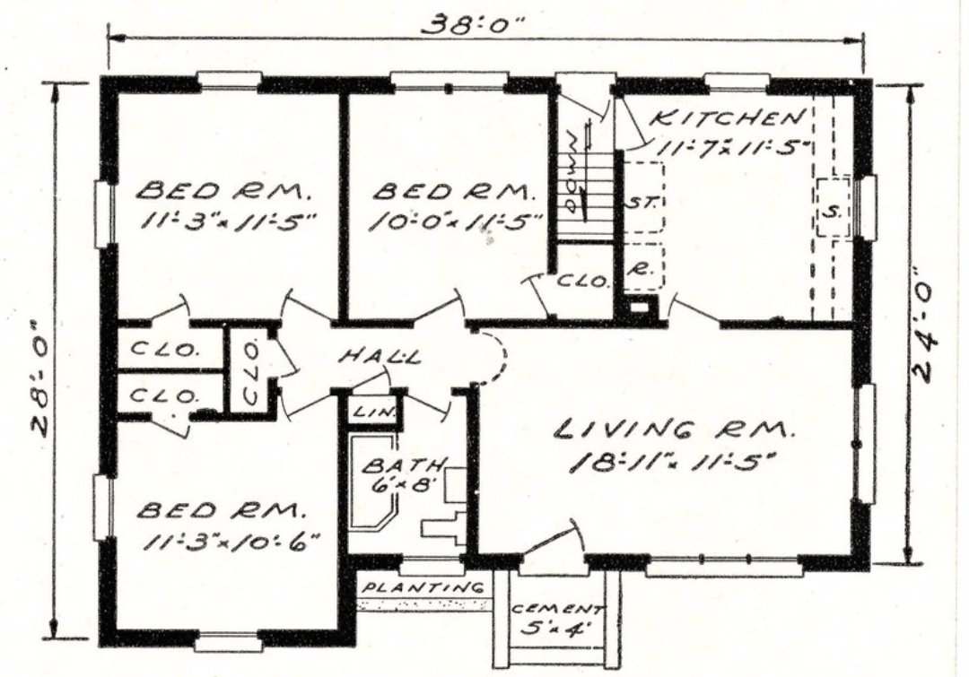 Online Architectural Floor Plan Analysis Feng Shui Las Vegas